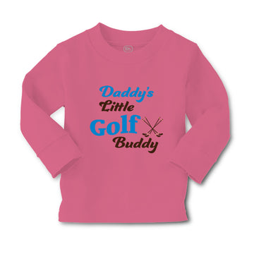 Baby Clothes Daddy's Little Golf Buddy Golfing Dad Father's Day Cotton