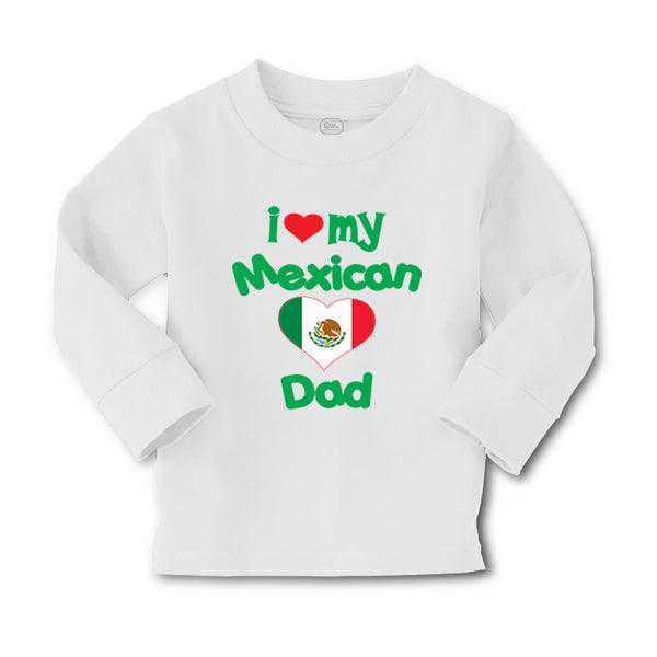 Baby Clothes I Love My Mexican Dad Boy & Girl Clothes Cotton - Cute Rascals