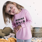 Baby Clothes Protected by A Pit Bull Dog Lover Pet Boy & Girl Clothes Cotton - Cute Rascals
