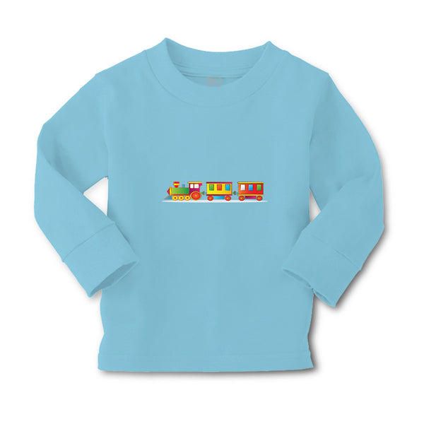 Baby Clothes Train Colorful B Cars & Transportation Trains Boy & Girl Clothes - Cute Rascals