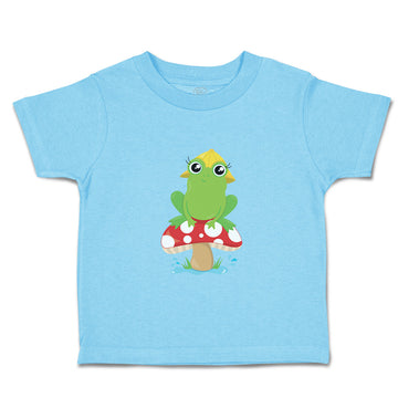 Baby & Toddler T-Shirt Frog Mushroom Funny Boy Girl Clothes