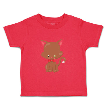 Baby & Toddler T-Shirt Christmas Kitten Sits Holidays and Occasions