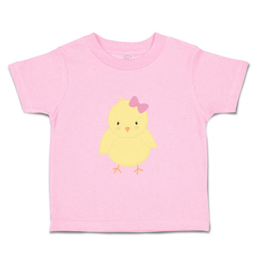 Toddler Clothes Yellow Chicken Girl Toddler Shirt Baby Clothes Cotton