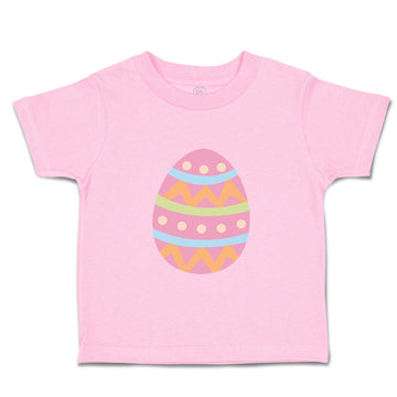 Toddler Clothes Pink Colorful Egg Toddler Shirt Baby Clothes Cotton