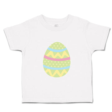Toddler Clothes Green Colorful Egg Toddler Shirt Baby Clothes Cotton