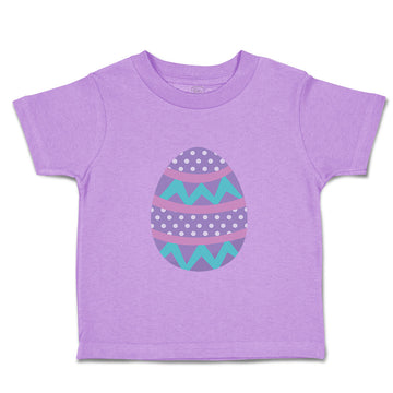 Toddler Clothes Dark Purple Colorful Egg Toddler Shirt Baby Clothes Cotton