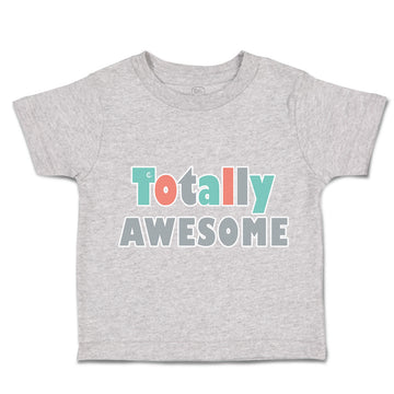 Toddler Clothes Totally Awesome Apple Toddler Shirt Baby Clothes Cotton