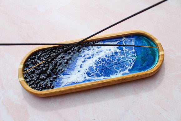 Seashell Double Incense Holder