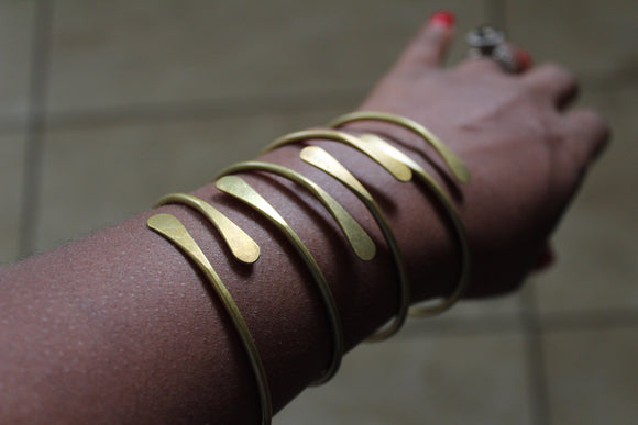 Brass Stacking Bangles