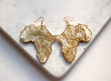 Load image into Gallery viewer, Africa Statement Earrings