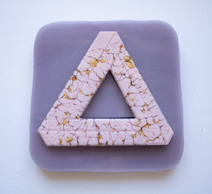 Pyramid Coaster Mold