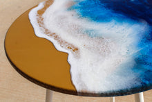 Load image into Gallery viewer, Seashore Resin Table