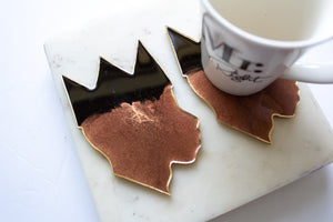 Copper King Coasters