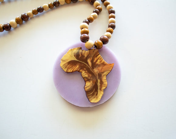 Africa Mold (Necklace)