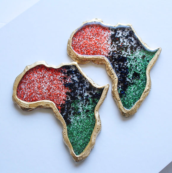 RBG Flakes Africa Coaster Sets