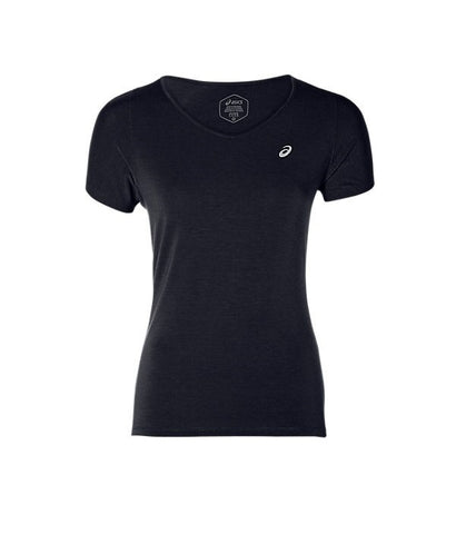 Remera V-NECK SS TOP- Mujer