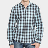 Camisa Pipelayer Plaid LS - Hombre