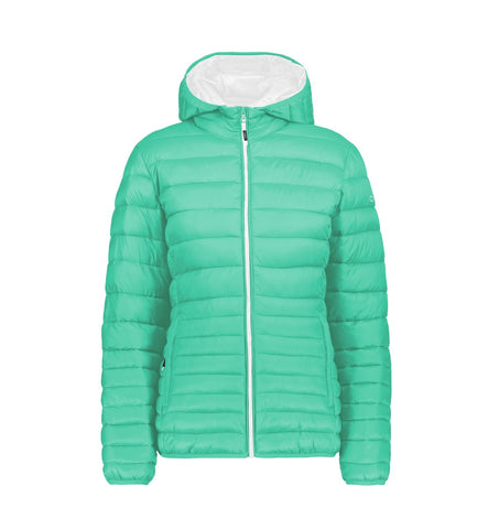 Campera de Pluma 3M Thinsulate con Capucha Desmontable - Mujer