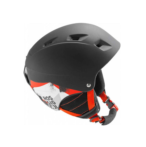 Casco Comp J Black / Led - Niños