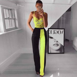 'Feeling Myself' Neon Yellow Bodysuit - Shop Secret Showroom