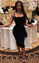 'Sammy' Black Bandage Dress