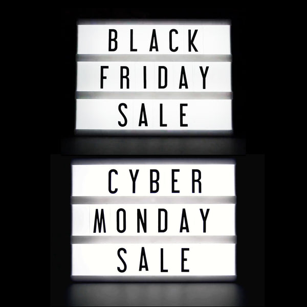 Got your Black Friday Cyber Monday Sale invite?