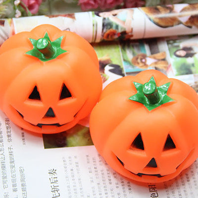Pumpkin Ball Squeaky Chew Dog Toys - Me pets goods