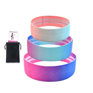 Resistance Bands 3-Piece Set Fitness Rubber Band Expander