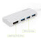USB C Hub VGA, OMARS 4-in-1 Aluminum 1080P VGA Adapter + 3 USB 3.0 Ports Compatible with New MacBook, MacBook Pro 2016/2017, Google ChromeBook Pixel, Huawei Matebook and Other Type C Devices