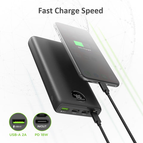 Omars Portable Charger Power Bank 26800mAh High Capacity