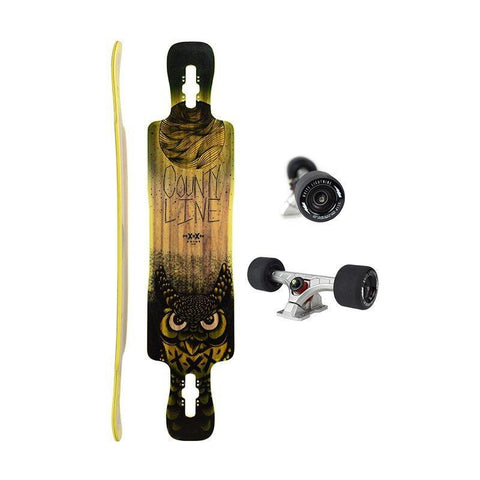 Longboard County Line Firm Yellow - Moonshine