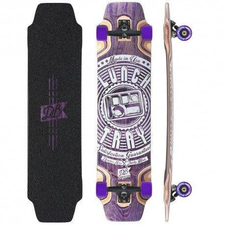 "Longboard Lunch Tray 39"" Purple - DB Longboards"