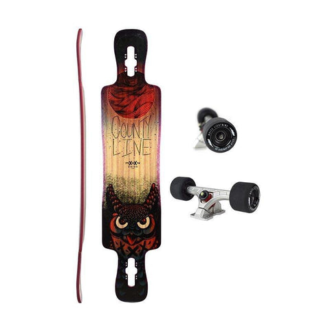 Longboard County Line Soft Red - Moonshine