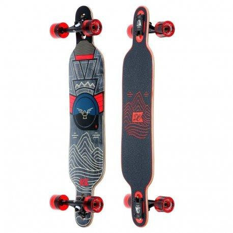 "Longboard Pioneer 38"" Mountains - DB Longboards"