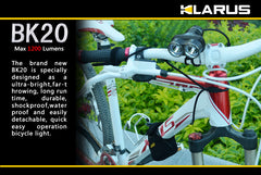 Klarus BK20 - XT20 Bike Conversion Kit