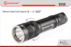 Sunwayman V25c Fully Variable Light
