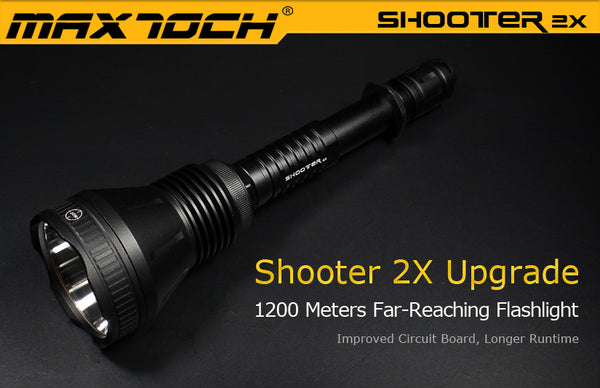 Maxtoch Shooter 2X Dedomed XM-L2 U4 *New updated version*