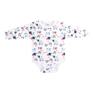 Pack x3 BODY MGL PIMA ESTAMPADO NIÑO 6202