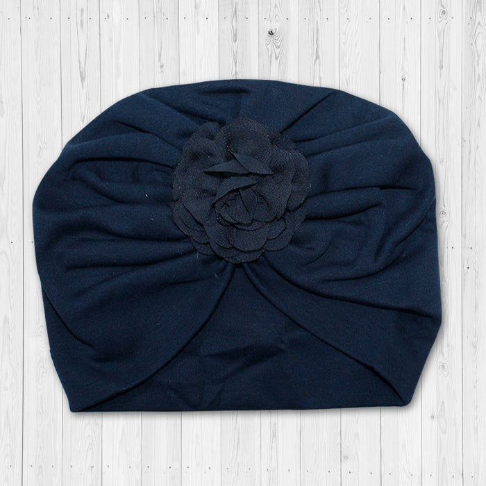 GORRO BB PIMA TURBANTE AZUL 7713