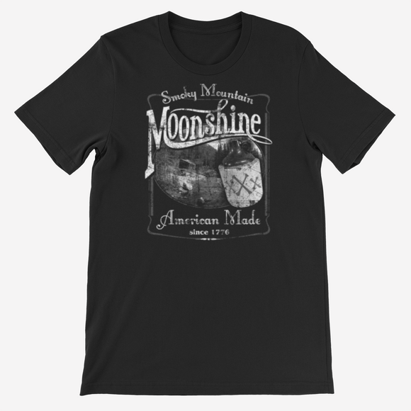 Men's  Smokey mountain Moonshine  T shirt