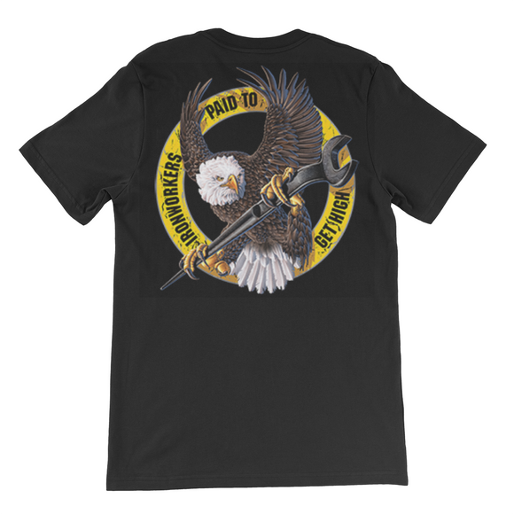Men's Iron workers T shirt