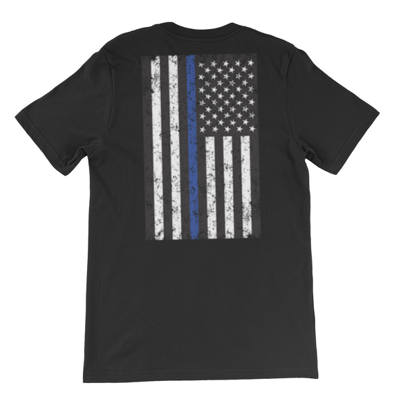 Thin blue Line Flag T shirt