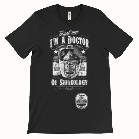 Im a Doctor Men's Black T shirt