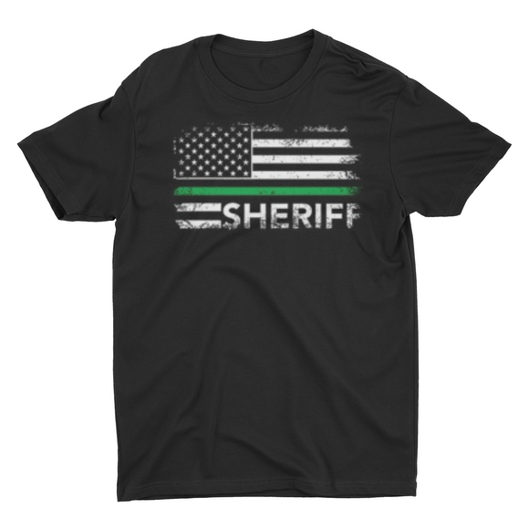 Men's Sheriff Flag T shirt