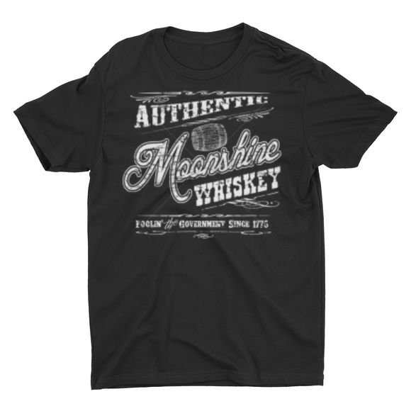 Men's Authentic MoonShine Whiskey T shirt