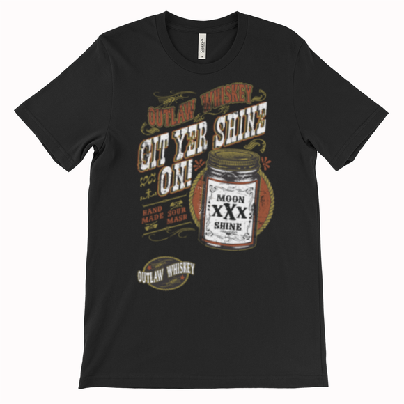 Git yer Shine on Men's T shirt