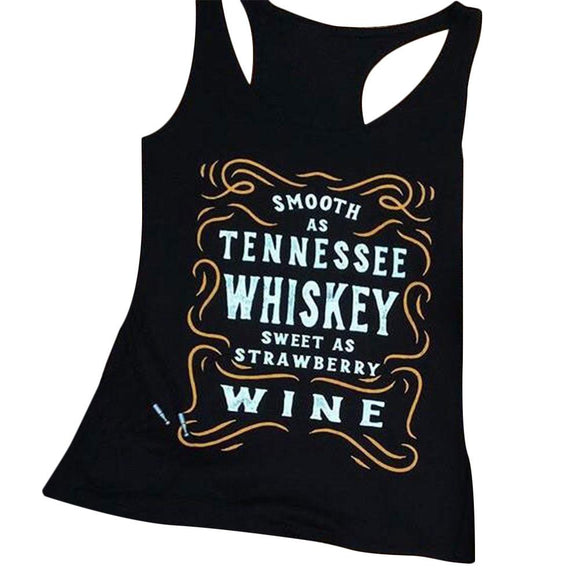 Sleeveless Smooth As Tennessee Whiskey Tank top