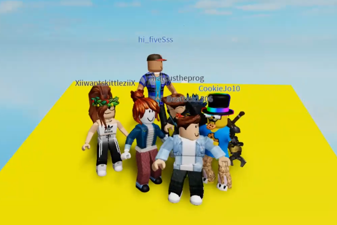 Roblox is a great way for kids to socialize during covid and also learn many new skills.