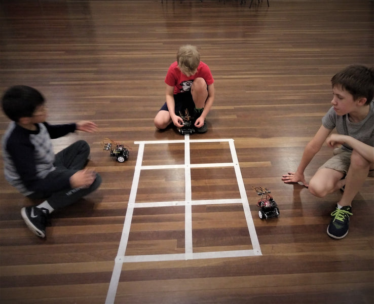 How robotics classes can improve maths skills via cool maths games and challenges?