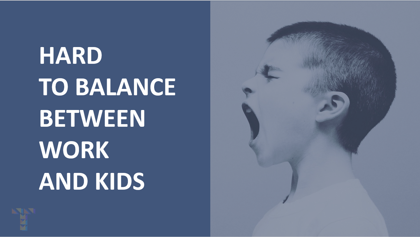Balancing work and kids activities
